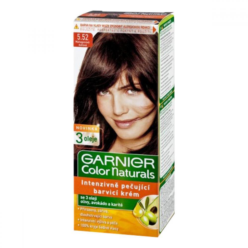 GARNIER Color Naturals barva na vlasy odstín 5,52 mahagon duhová