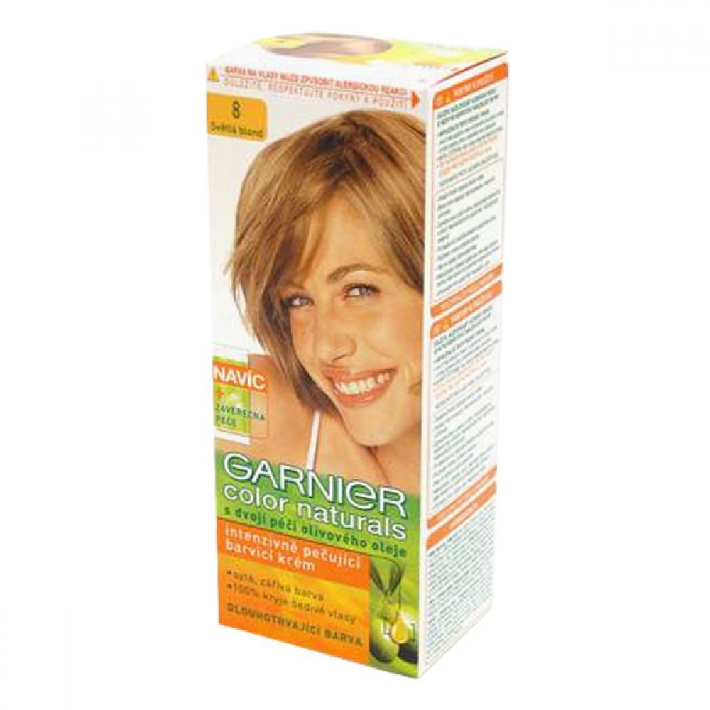 GARNIER Color Naturals barva na vlasy odstín 8 světlá blond