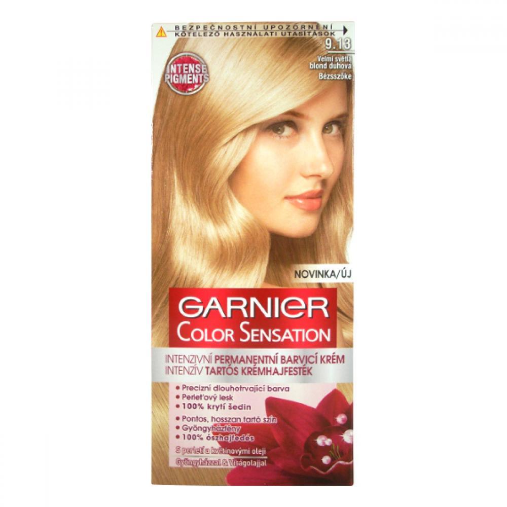 GARNIER Color Sensitive barva na vlasy odstín 9.13 velmi světlá blond