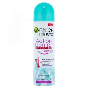 GARNIER Mineral Action Control Thermo Protect 72h Spray Minerální deodorant 150 ml