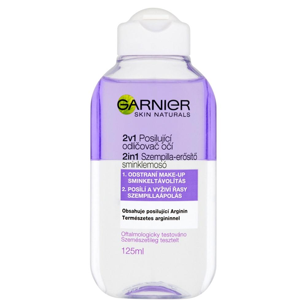 GARNIER Skin Naturals 2v1 Posilující odličovač očí 125 ml