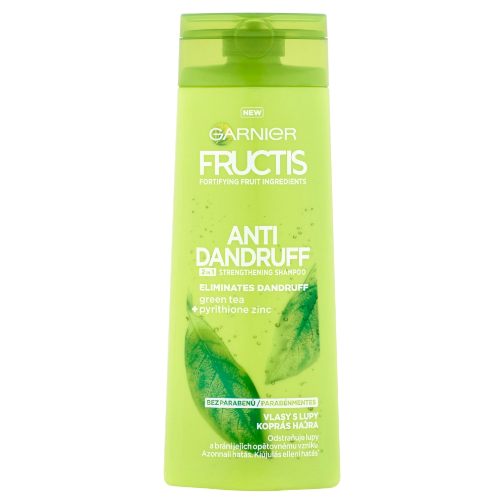 GARNIER Fructis 2v1 proti lupům šampon 250 ml