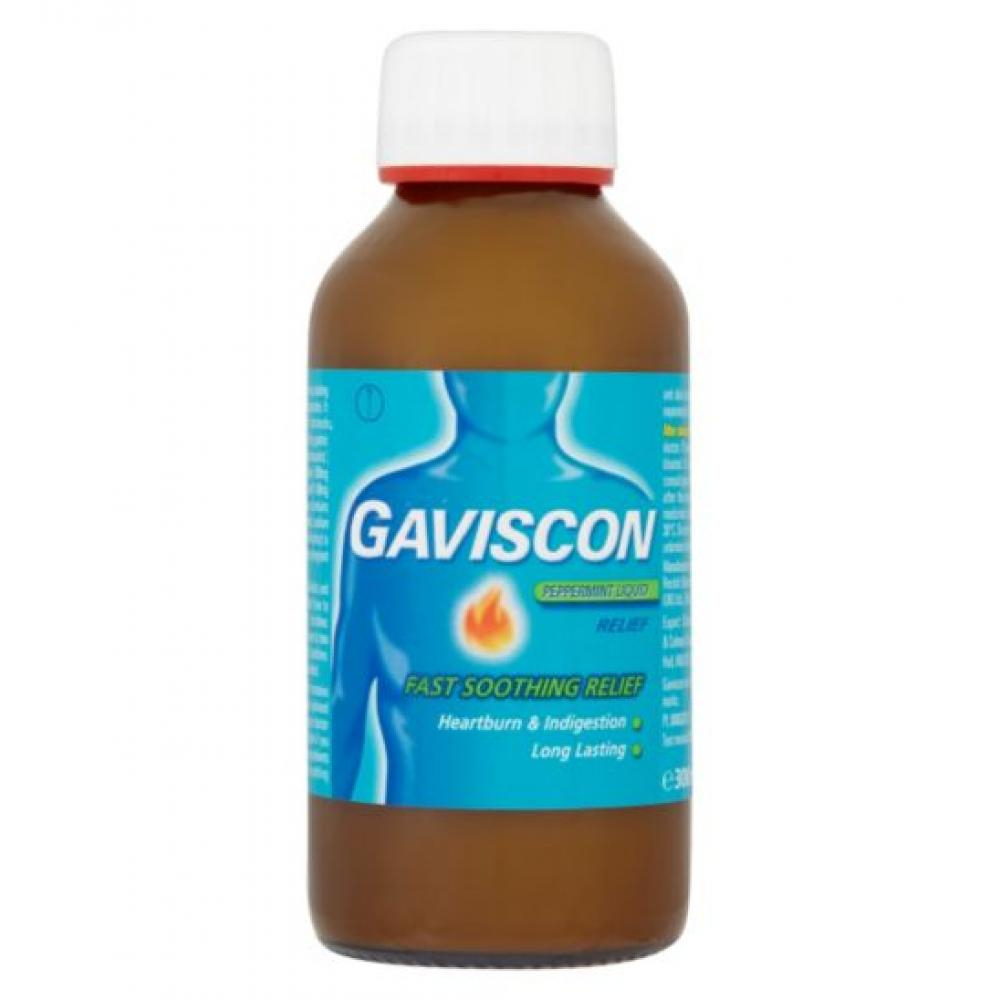 GAVISCON LIQUID PEPPERMINT 1X300ML Suspenze