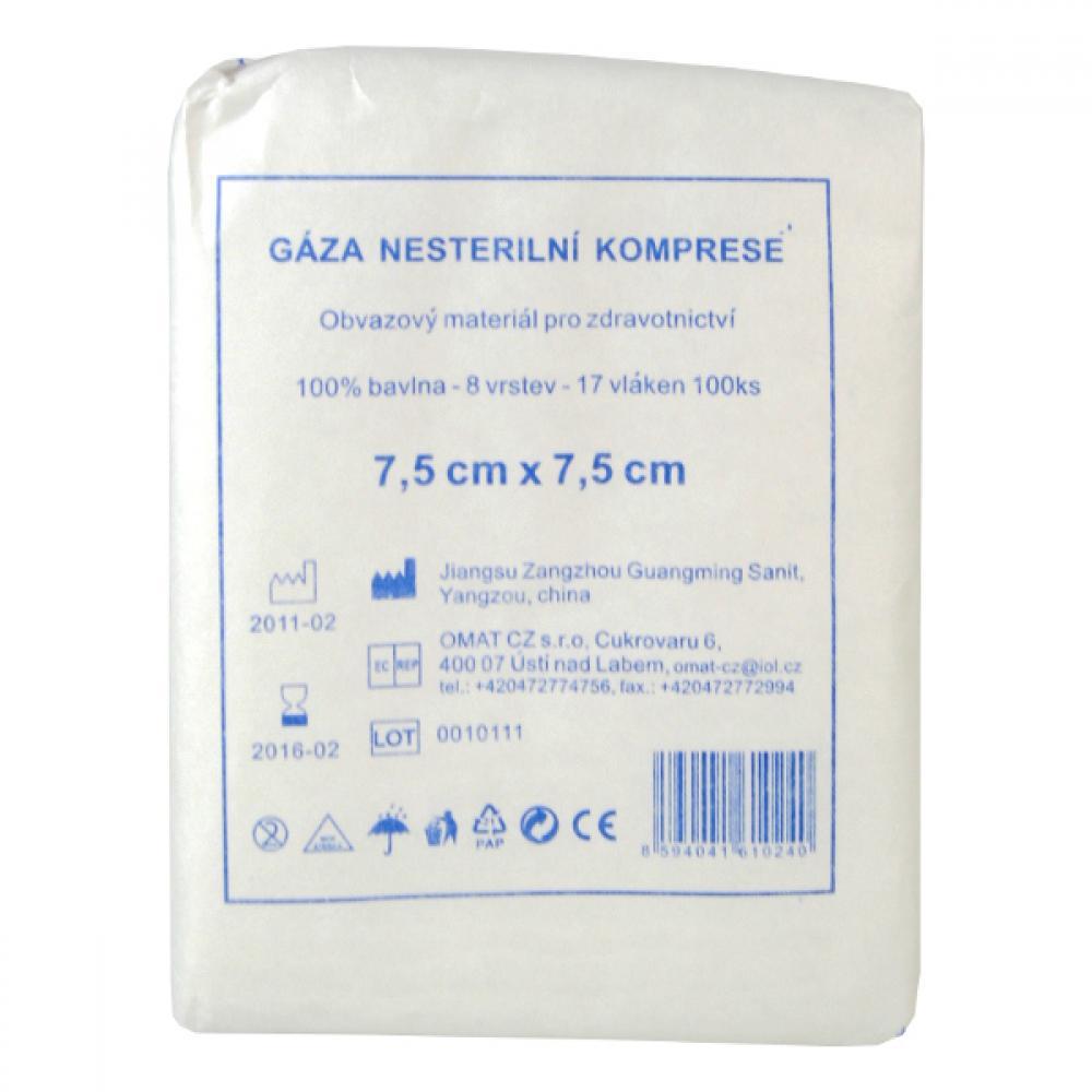 Gáza kompr.nester.7.5x7.5/100ks CJZ