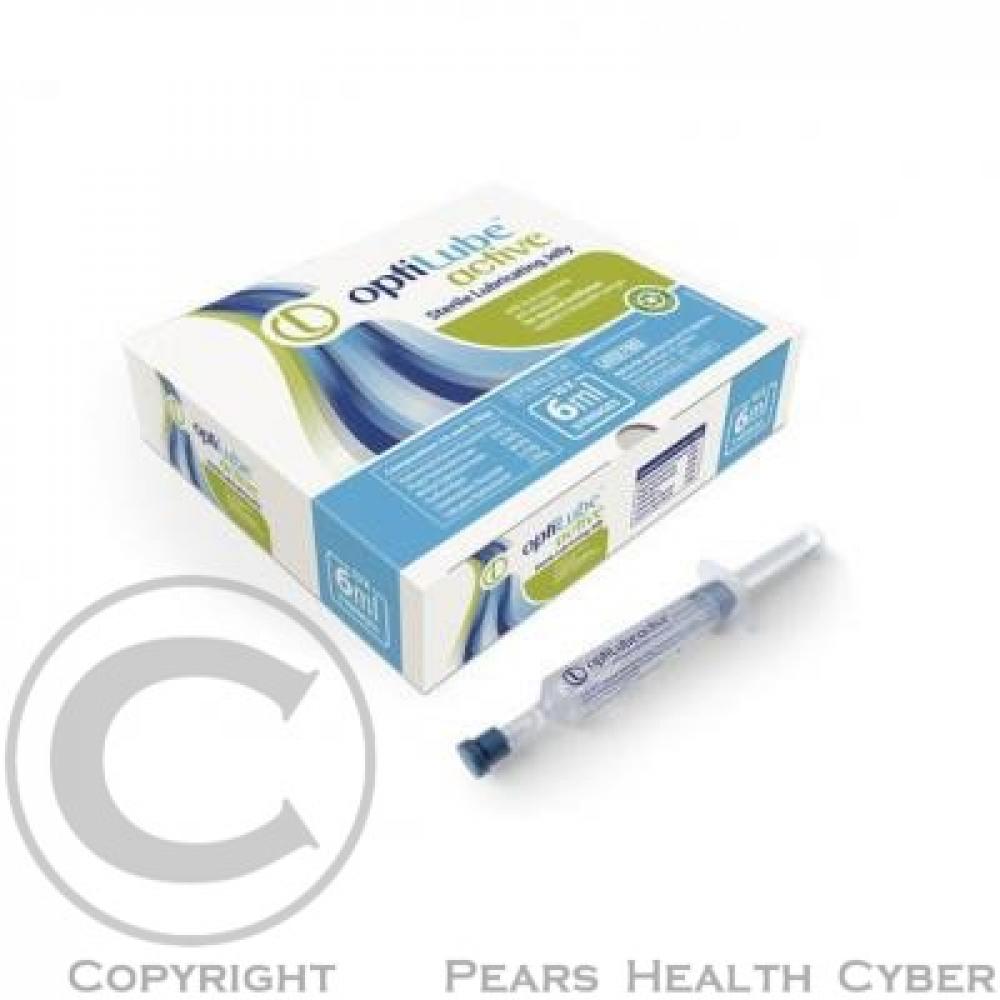 Gel lubrikační OptiLube Active stříkačka 6ml 10ks