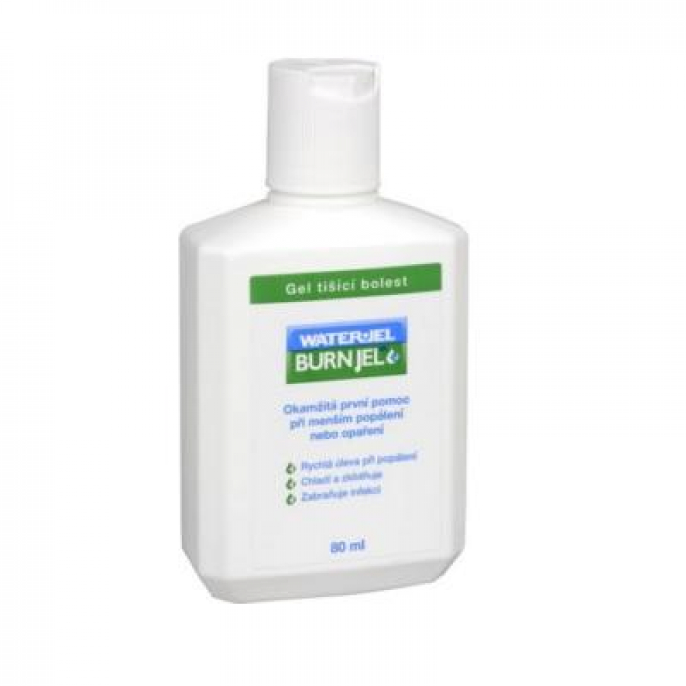 MEDICALFOX Water Jel gel na popáleniny 80 ml