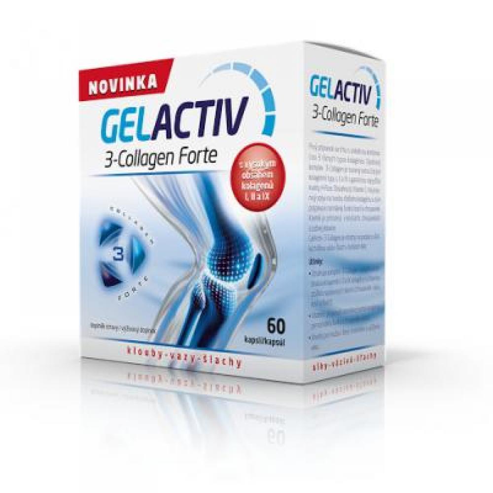GELACTIV 3-Collagen Forte 60 kapslí