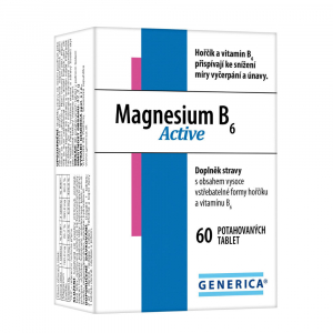 GENERICA Magnesium B6 Active 60 tablet