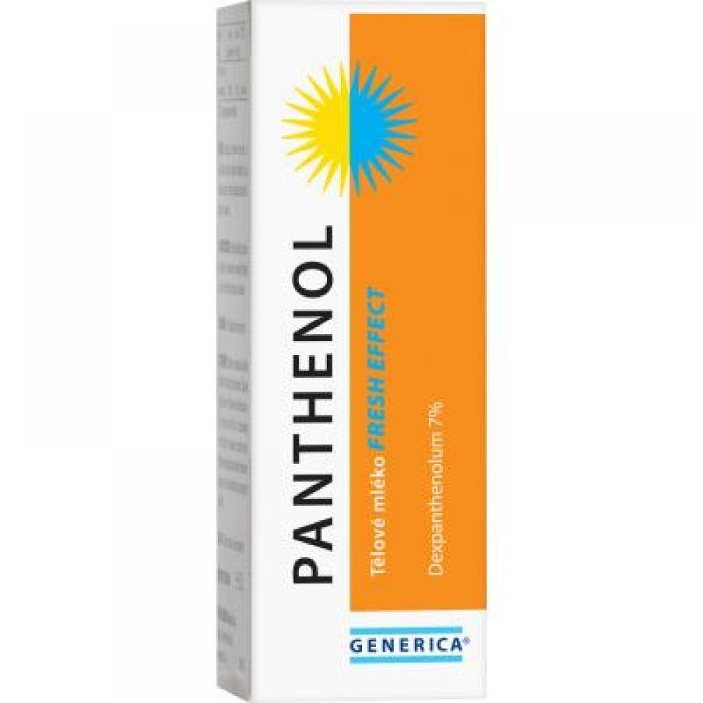 GENERICA Panthenol Tělové mléko fresh effect 150 ml