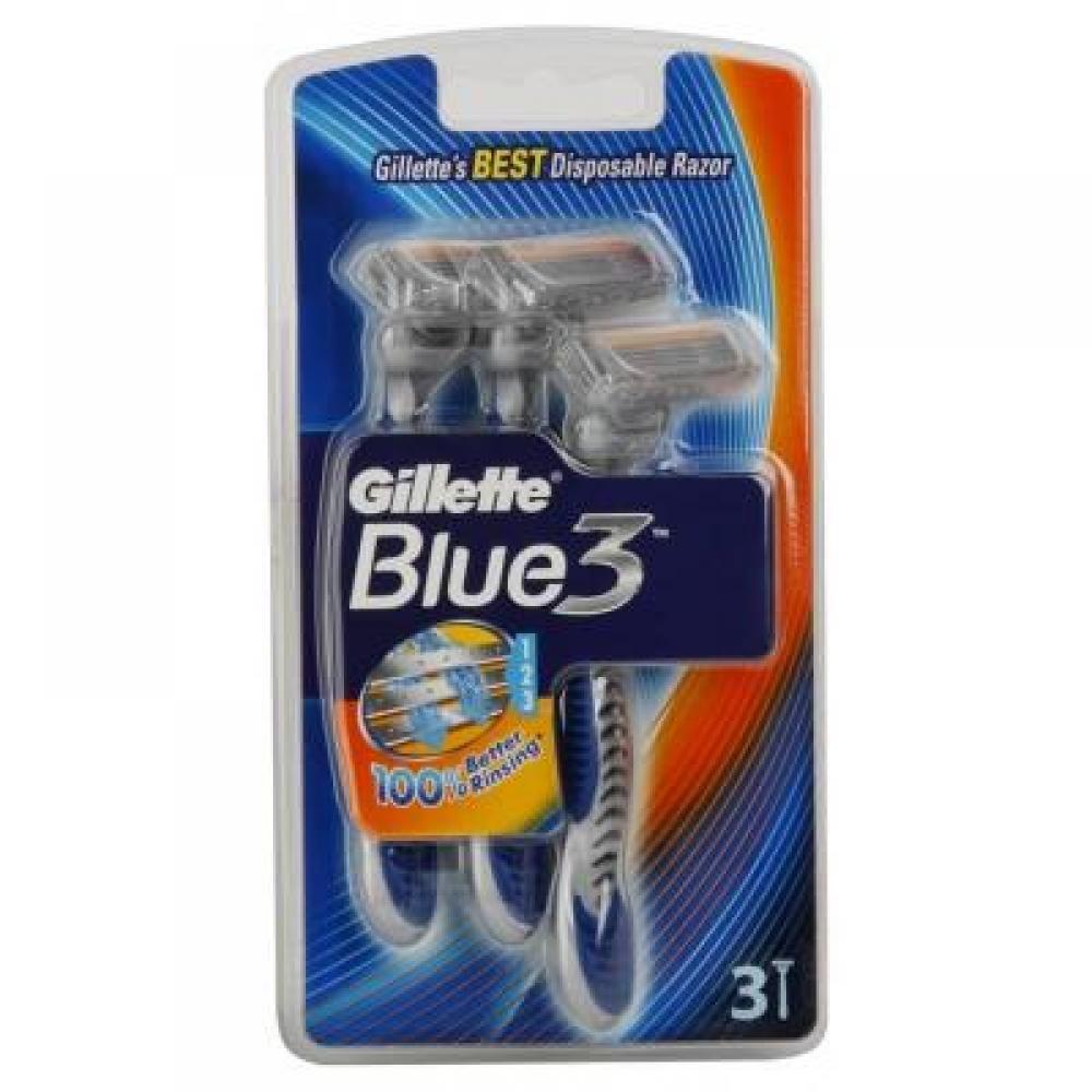 GILLETTE Blue3 holítko 3 ks