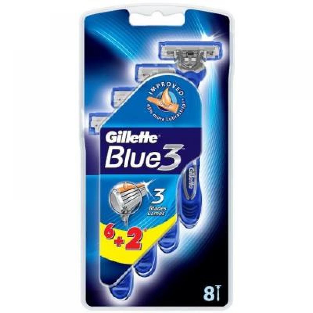 GILLETTE Blue3 holítko 6+2 ks