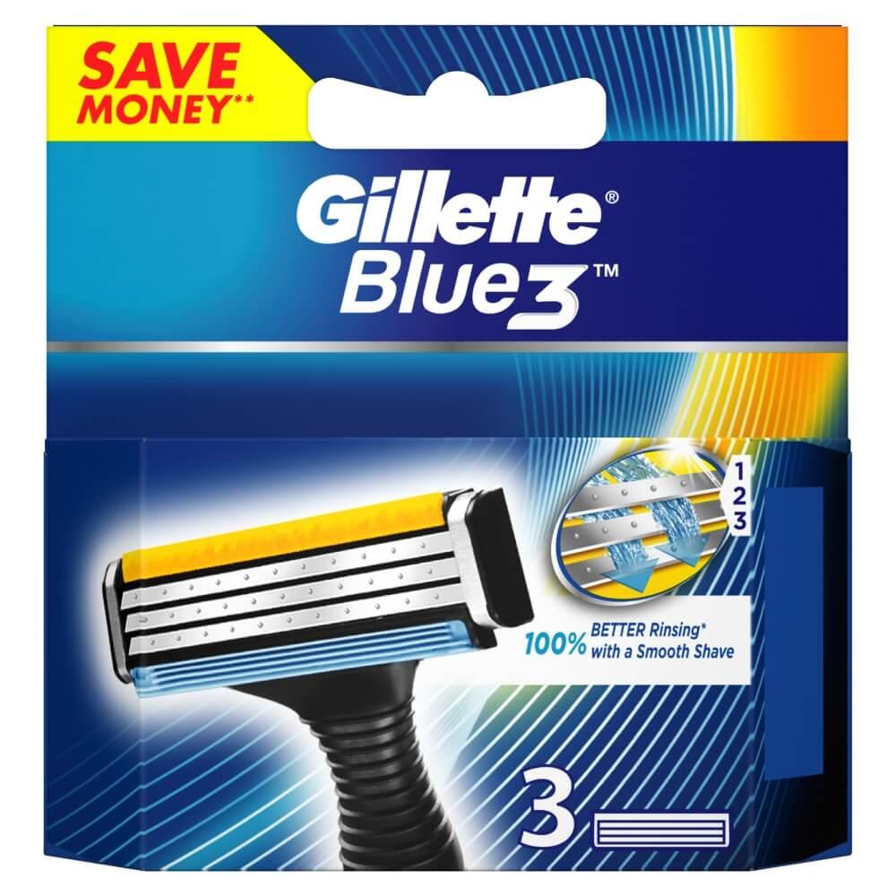 GILLETTE blue3 náhradní hlavice 3ks