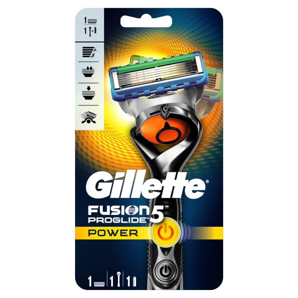 Gillette ProGlide Flexball Power holící strojek + náhradní hlavice 1 kus