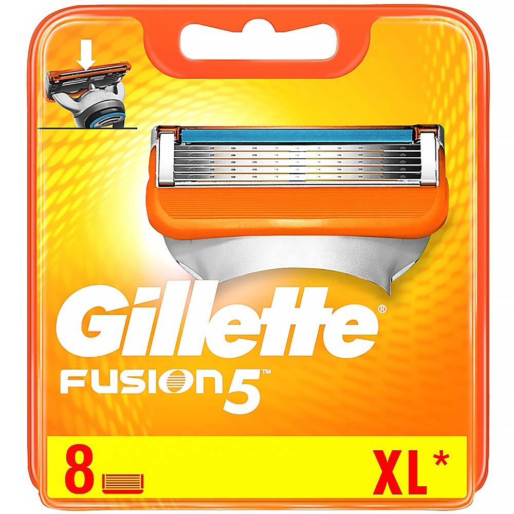 Gillette FUSION náhradní hlavice 8ks
