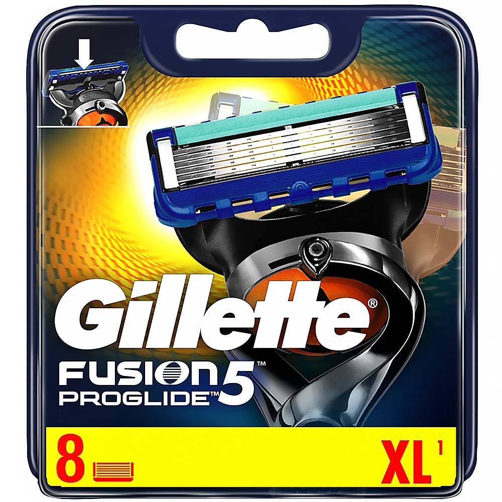 GILLETTE Fusion ProGlide holicí hlavice pro muže 8 ks
