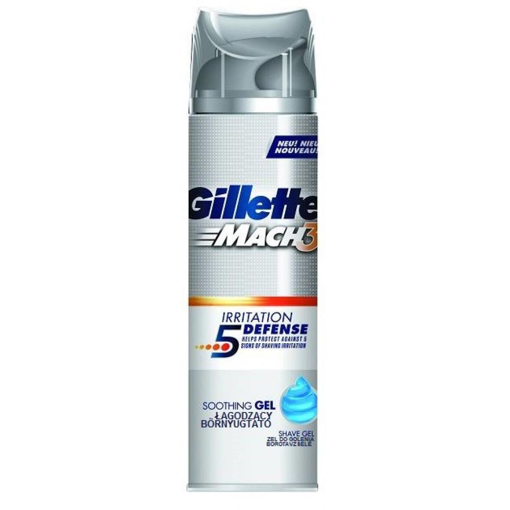 GILLETTE zklidňující gel na holení 200 ml