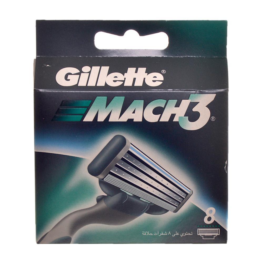 GILLETTE Mach3 náhradní hlavice 8 kusů