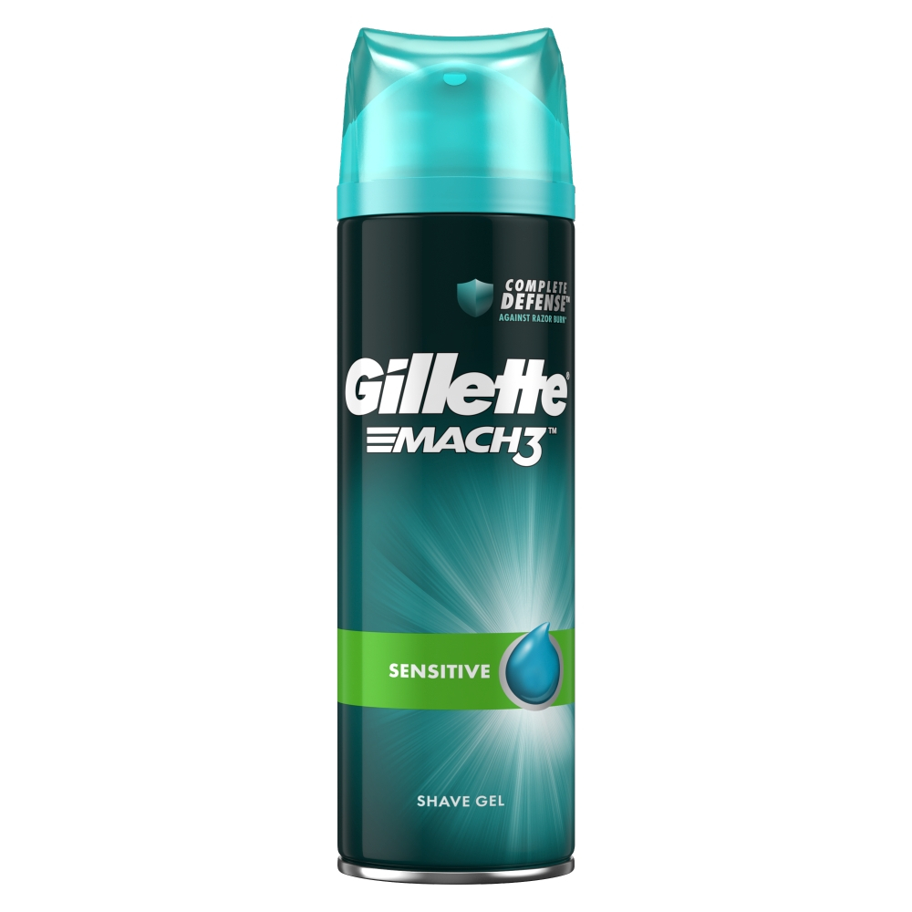 Gillette Series Gel na holení Pure&Sensitive 200ml
