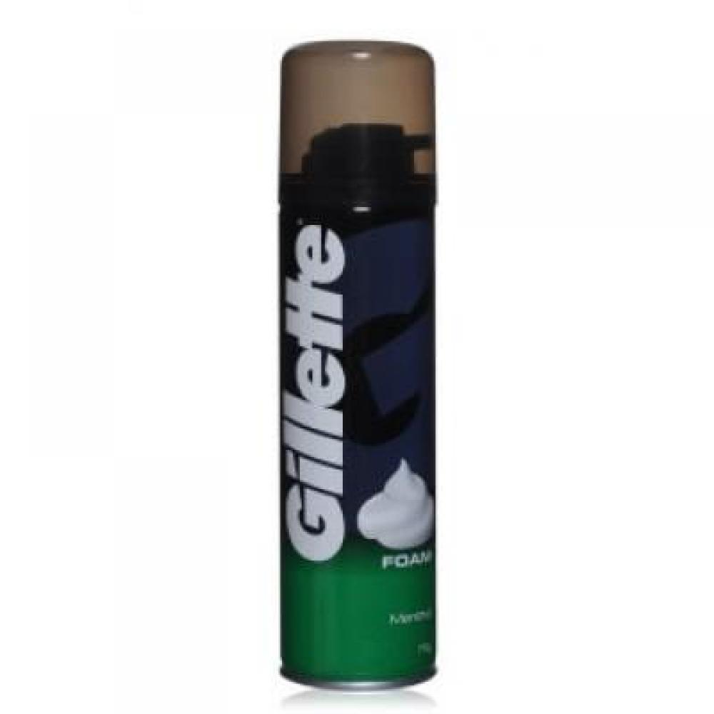 GILLETTE pěna na holení s mentholem 300 ml