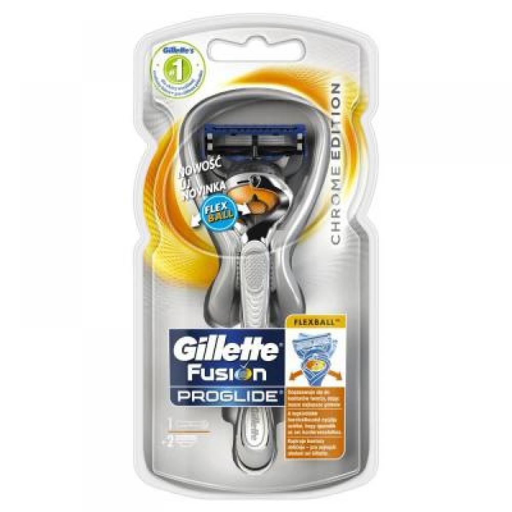 GILLETTE Fusion PROGLIDE Flexball holící strojek + náhradní hlavice 2 ks