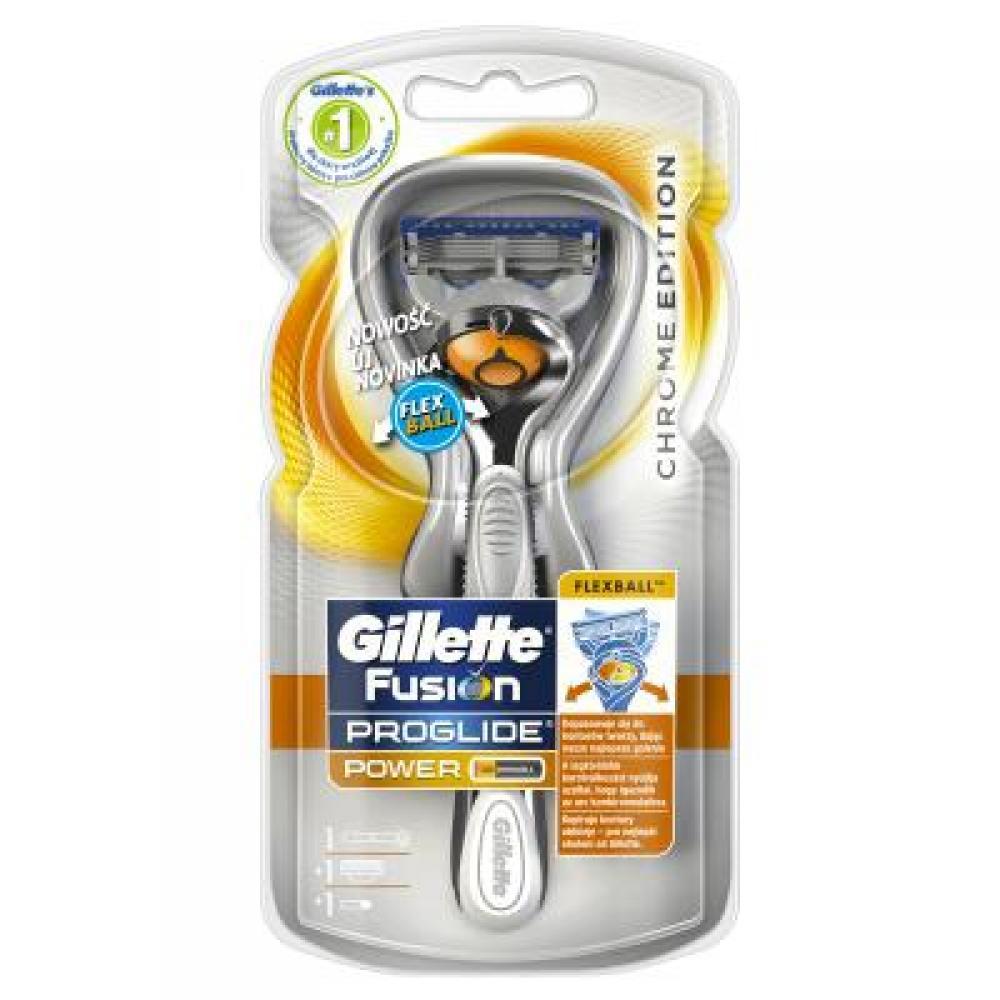GILLETTE Fusion PROGLIDE Power holicí strojek + náhradní hlavice 1 ks