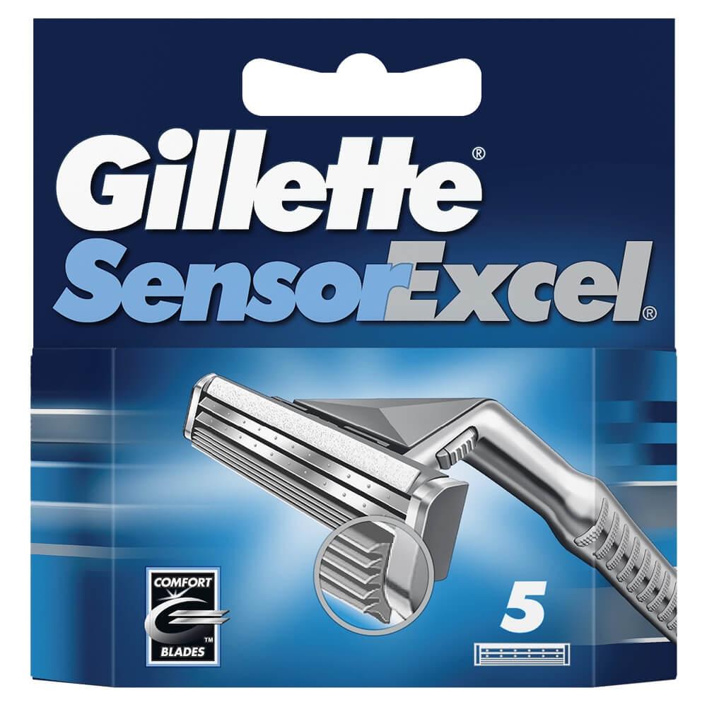 Gillette Sensor Excel pánský náhradní břity 5 ks SEFM
