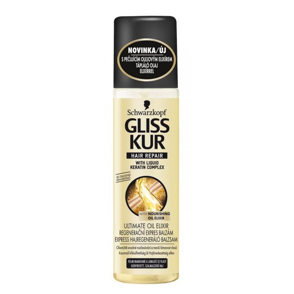Gliss kur Expres balzám Ultimate Oil Elixir 200 ml
