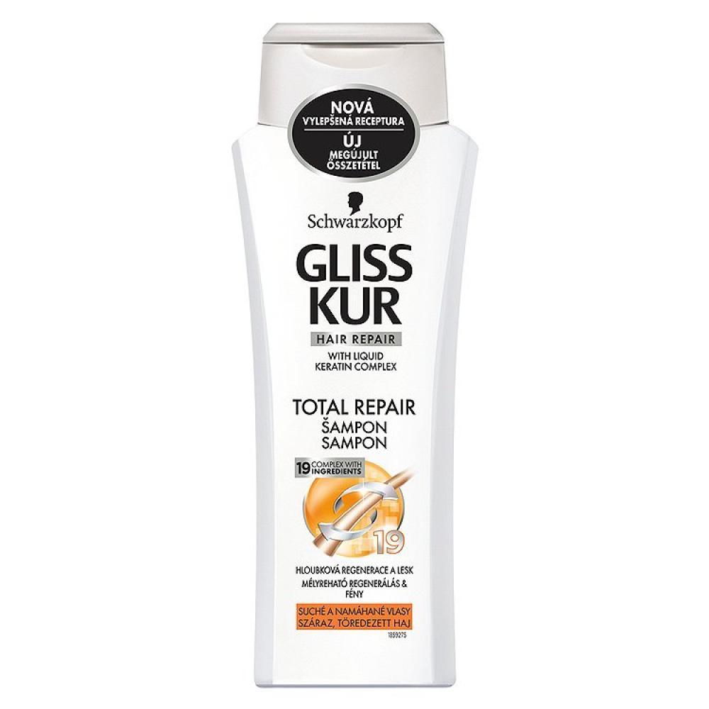 GLISS KUR regenerační šampon Total Repair 250 ml