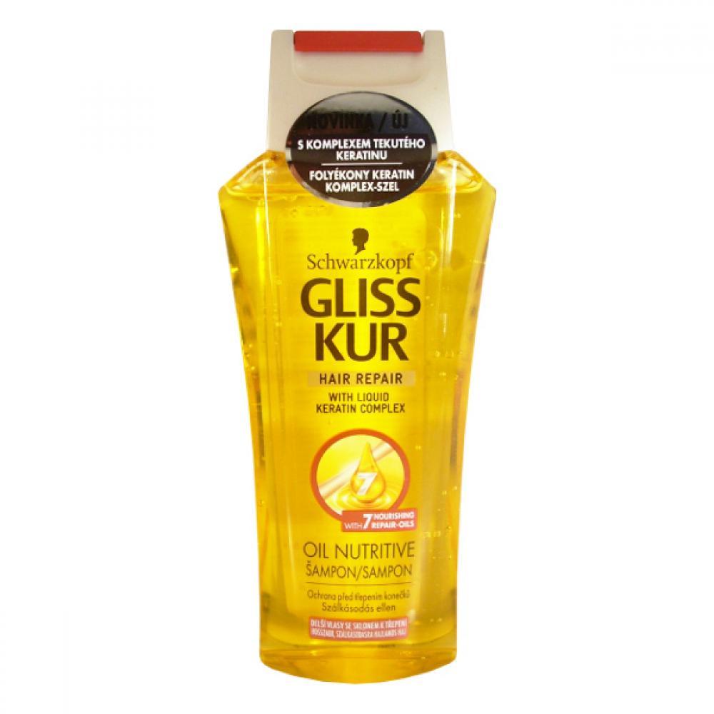 GLISS KUR regenereční šampon oil nutritive250ml435