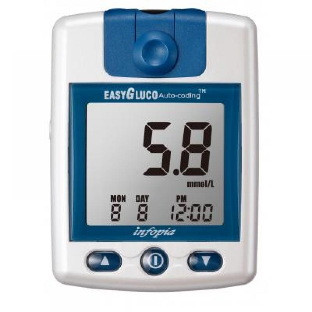 Glukometr EasyGluco + 25 ks testovacích proužků
