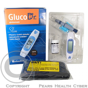 Glukometr GLUCODR SLIM AGM - 2300 (starting kit)