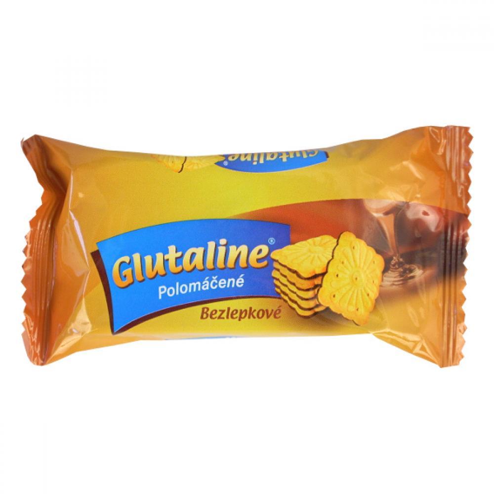 GLUTALINE bezlepkové polomáčené sušenky 70 g