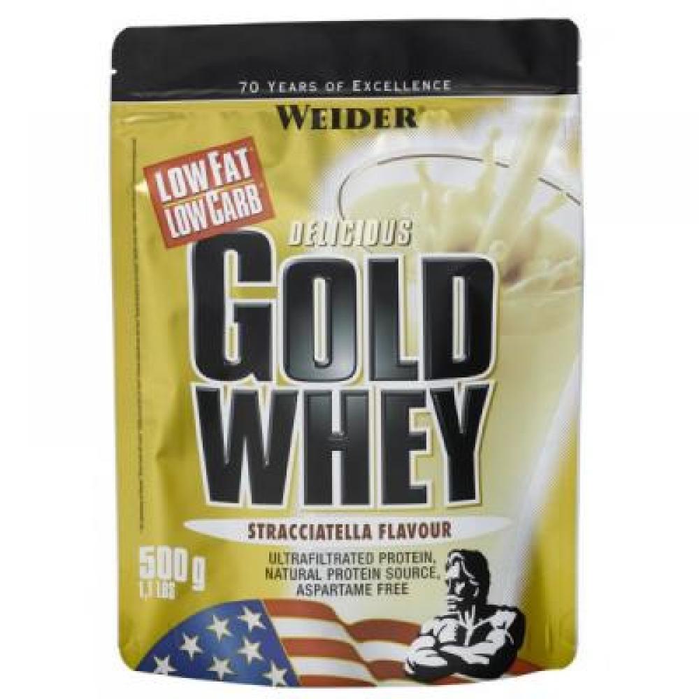 Gold Whey, syrovátkový protein, Weider, 500 g - Banán
