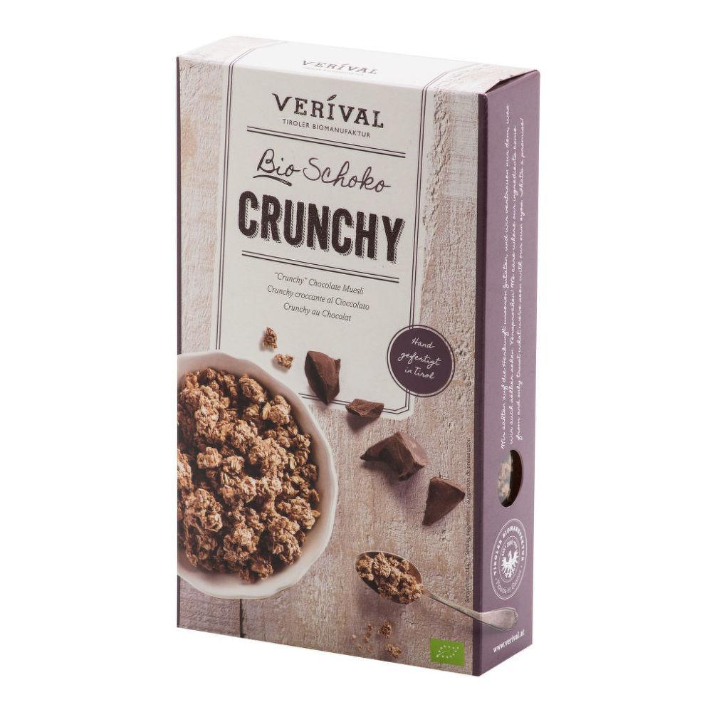VERIVAL Granola Křupavé müsli čokoládové 375 g