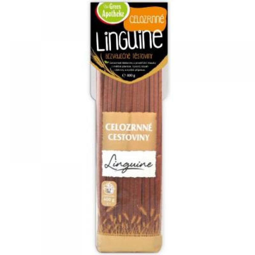 GREEN APOTHEKE Linguine celozrnné 400 g