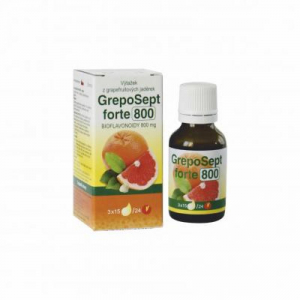GREPOSEPT Forte 800 kapky 25 ml