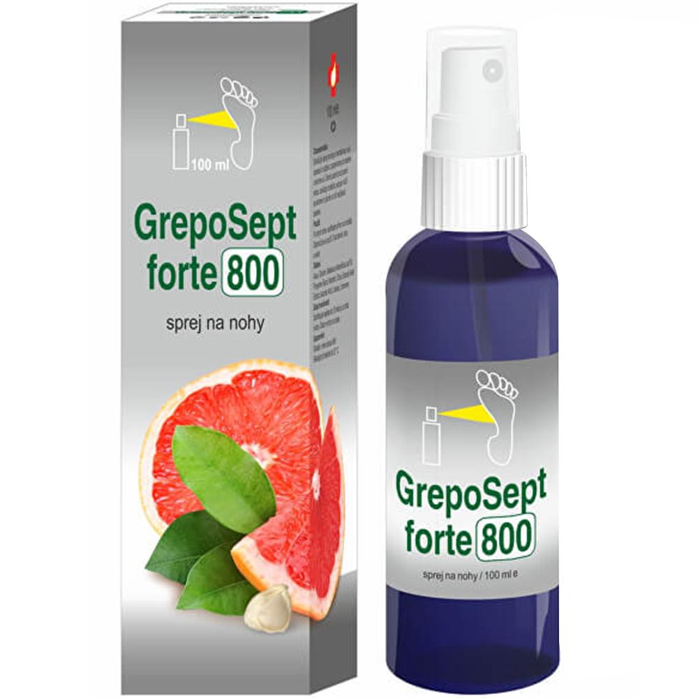 GREPOSEPT Forte 800 sprej na nohy 100 ml