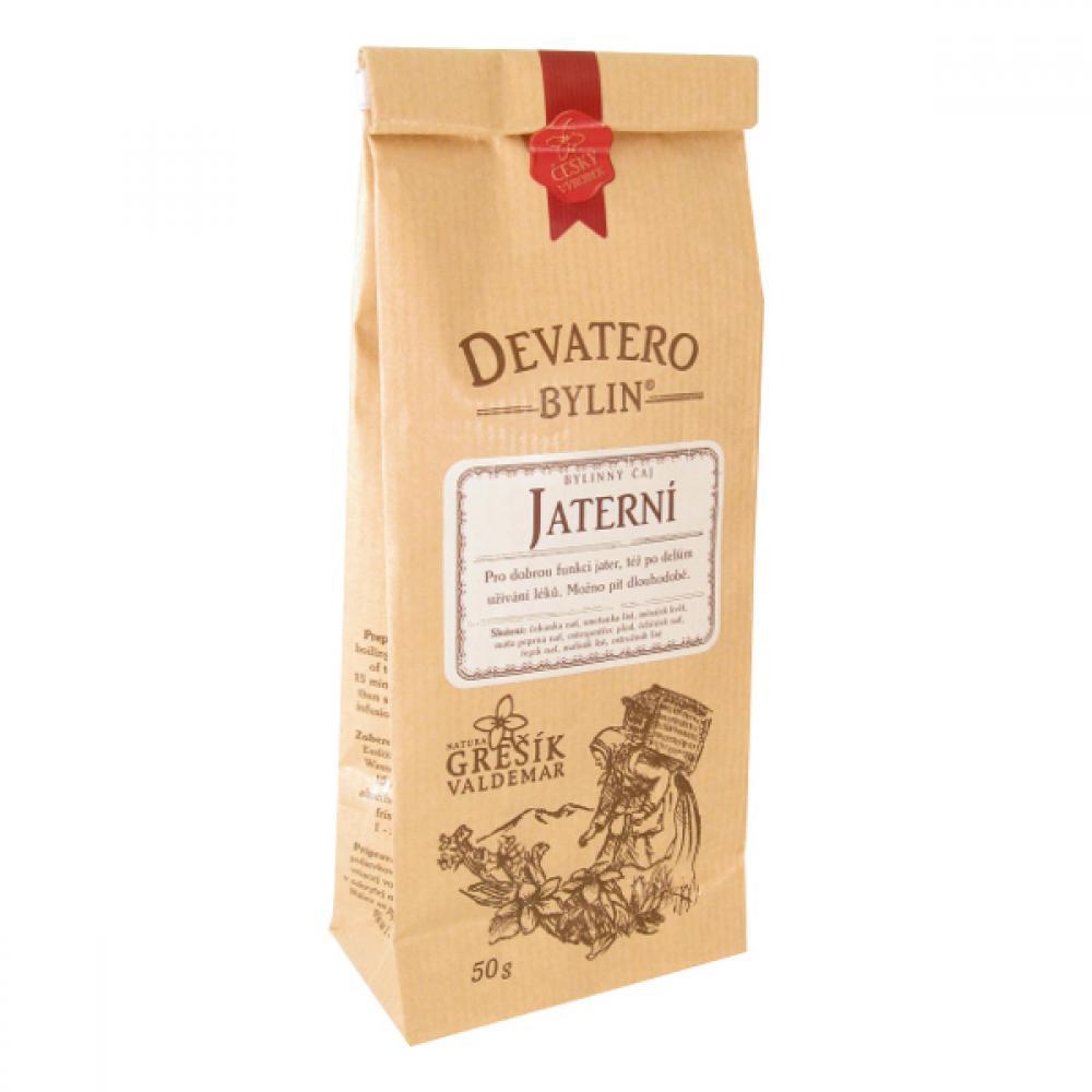 Grešík Devatero bylin Jaterní čaj sypaný - 50g