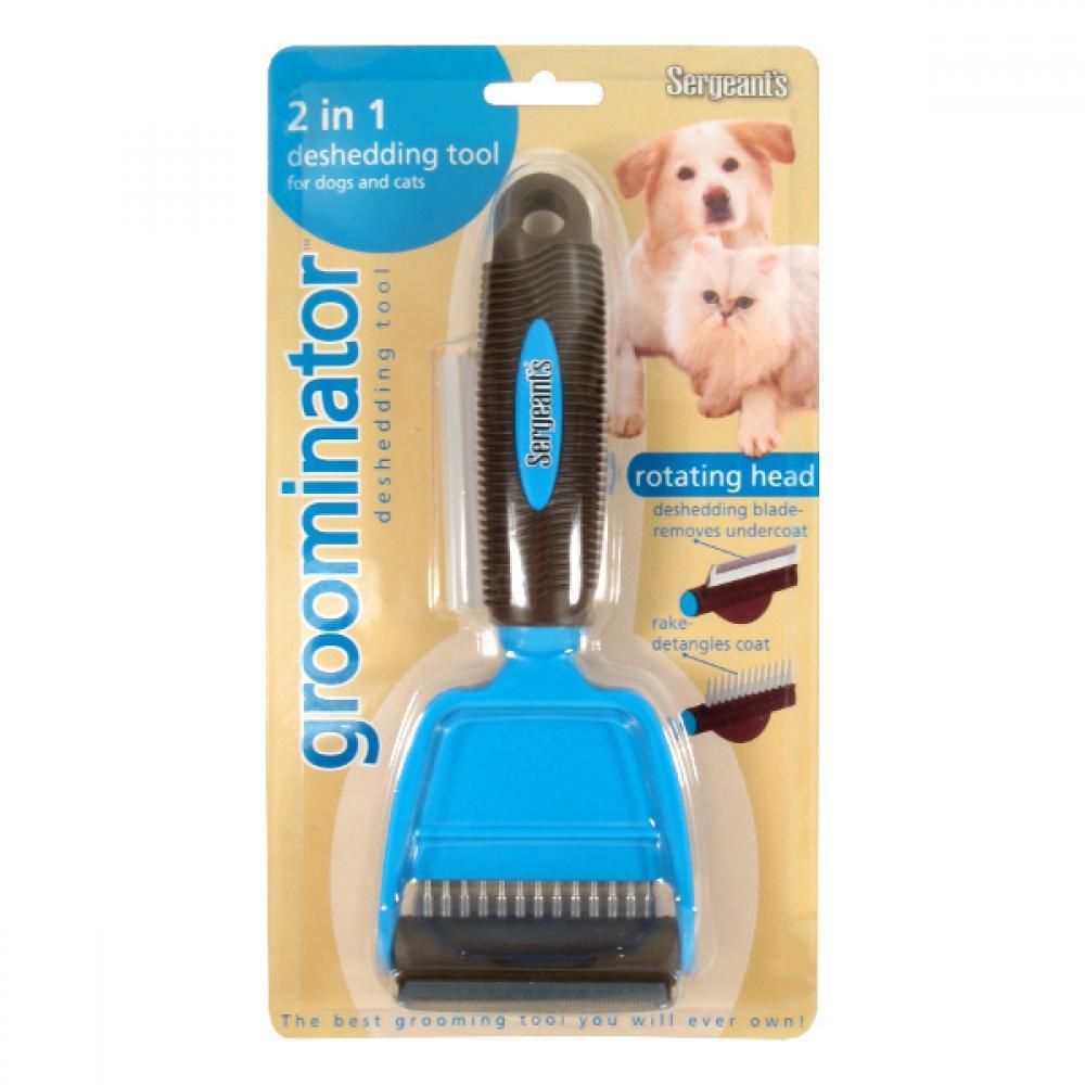 Groominátor hřeben 2V1 pro psy a kočky 1ks