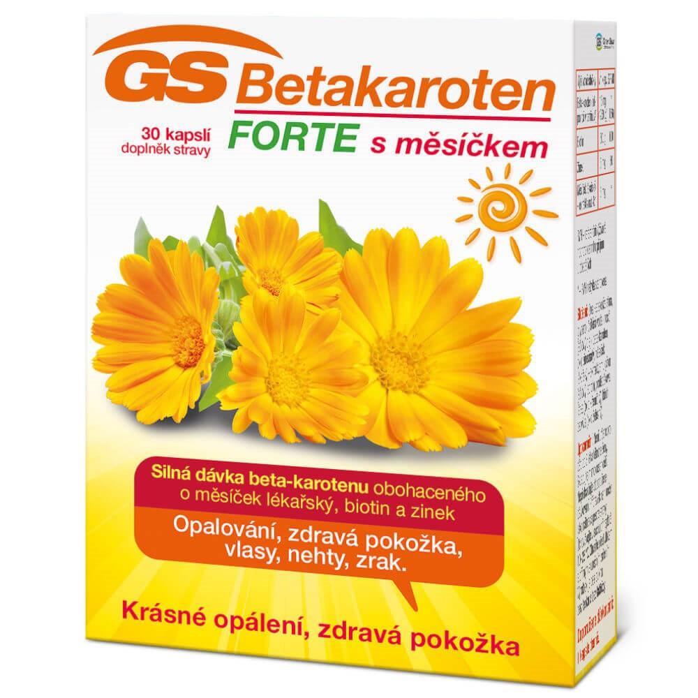 GS Betakaroten Forte 30 kapslí