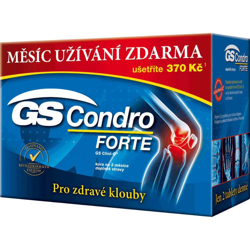 GS Condro FORTE 120+60 tablet ZDARMA