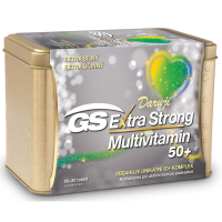 GS Extra Strong Multivitamin 50+ 90+30 tablet + dárek
