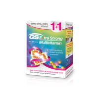 GS Extra Strong Multivitamin 50+50 tablet dárek 2018
