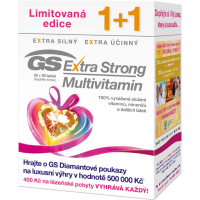 GS Extra Strong Multivitamin 50+50 tablet dárek 2017