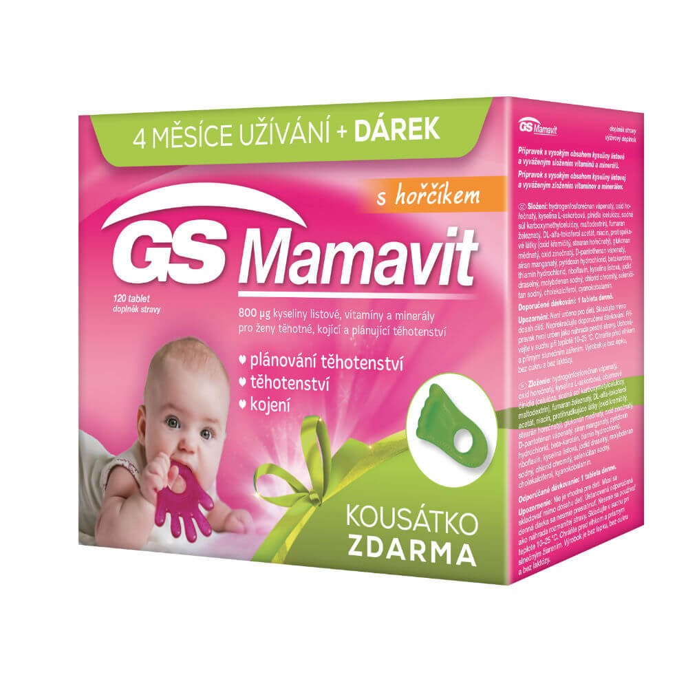 GS Mamavit 120 tablet dárek 2017