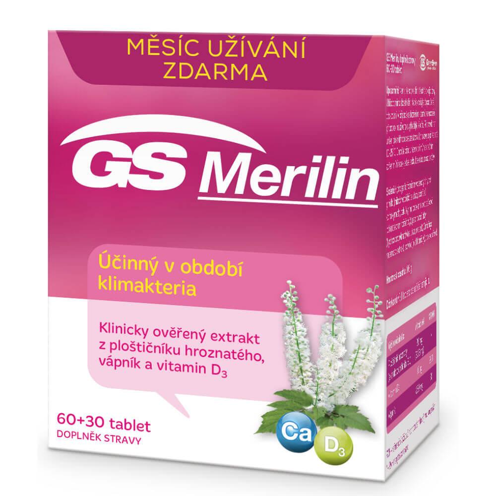 GS Merilin 60+30 tablet
