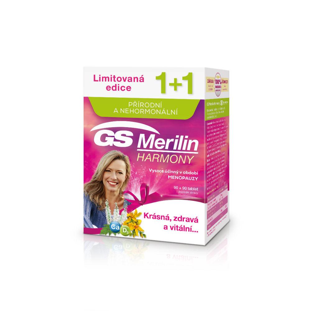 GS Merilin Harmony 90+90 tablet dárek 2018