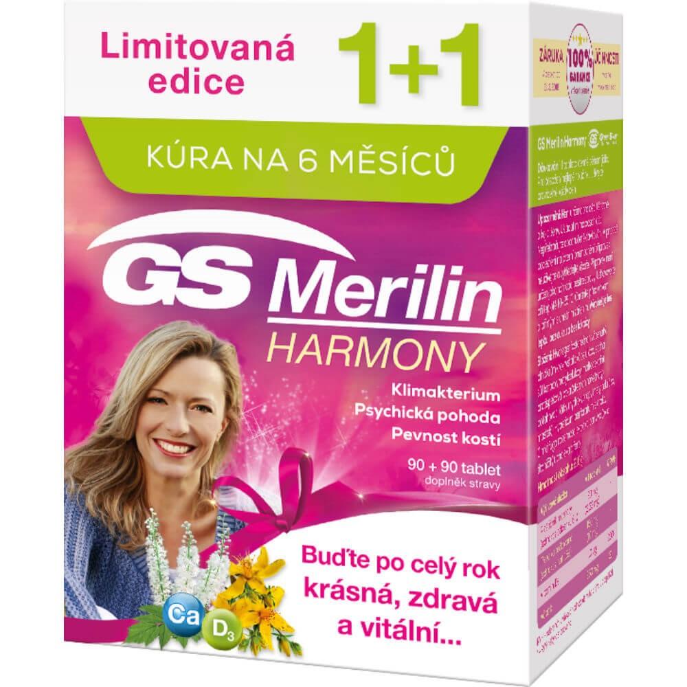 GS Merilin Harmony 90+90 tablet dárek 2017