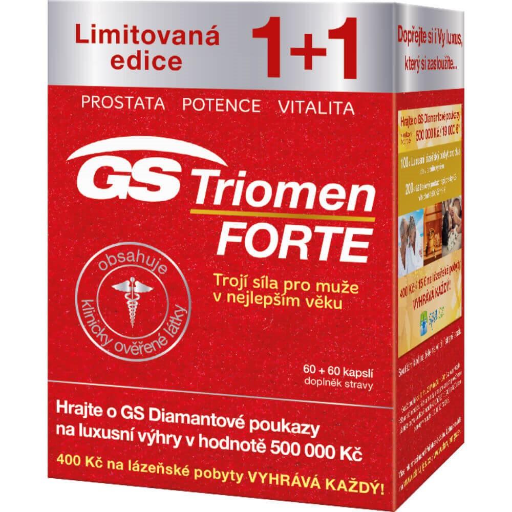 GS Triomen Forte 60+60 kapslí dárek 2017