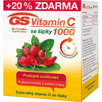 GS Vitamin C 1000 se šípky 50 + 10 tablet